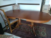 Tavolo ovale allungabile con sedie in perfetto stato Tavoloovaleallungabileconsedieinperfettostato123.jpg