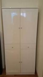 Armadio bianco/Colonna WC solo 79 CHF
