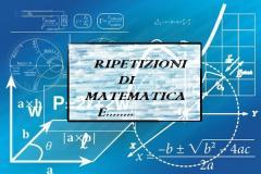 INGEGNERE IMPARTISCE RIPETIZIONI DI MATEMATICA E....