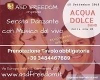 Serata Danzante con ORCHESTRA dal VIVO