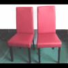 MUDE - Sedia in legno massello ed ecopelle per bar, ristorante, pub, pizzeria, n