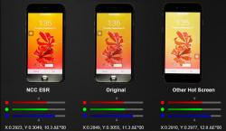 iPhone 6, 6S, 7, 8 Nano ESR LCD Bianco/Nero