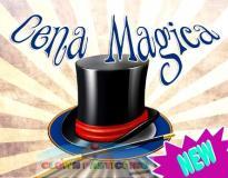 Cena con Spettacolo di magia, serata magica con mago illusionista in Ticino