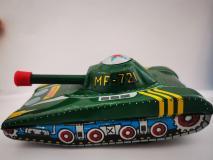Giocattolo Toy Carro Armato Tin Latta Tank Anni 60'