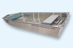 Barca in alluminio Serie Alaska