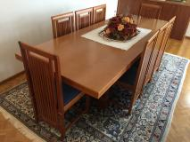 Tavolo e sedie Cassina - Design Frank Lloyd Wright