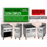 Kit Completo - Cucina Professionale