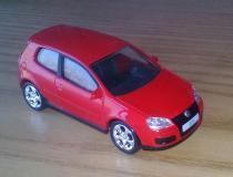 VW Golf GTI Mk5 rossa Norev 3 pollici...