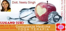 Consulenze Mediche Yoga Terapia con la DOTT. NEETU SINGH
