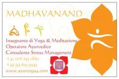 Insegnante di Yoga e Ayurveda a...