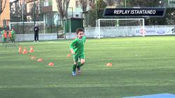 Lezioni di calcio per piccoli...
