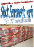 Stock ferramenta mista 77 bancali