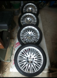 Vendo 4 gomme invernali più cerchi in lega originali Alfa Romeo per Giulietta