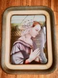 Dipino quadro su ceramica Magri anni 30/40