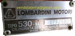 Vendo motozappa Lombardini, motore e cambio nuovi, con carrello ribaltabile e fr