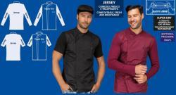Giacche chef in jeans e tessuti speciali