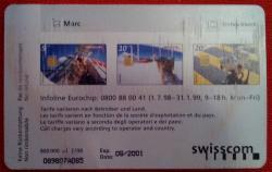 Scheda telefonica Swisscom