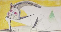 Pablo Picasso - Litografia Originale con certificato C.O.A.