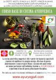 Workshop teorico/pratico di Cucina ed Alimentazione Ayurvedica con i medici Indi
