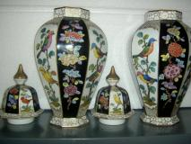Bellissima originale coppia di vasi in...