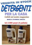 Stock detergenti per la casa 2000pz