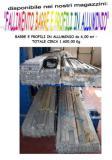 vendo barre e profili in alluminio