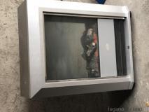 Stufa elettrica ad aria calda con telecomando