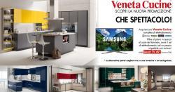 Promozione Veneta cucine con omaggio TV 49°