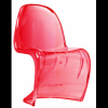 Sedia simil PANTON chair in ABS BIANCO, NERO, ROSSO