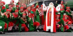 Urgente  lavoro come Babbo Natale a...