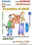 Scambio Abiti - 3 novembre - Bellinzona