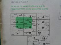 Vespa Piaggio Servizio  -Stradario scala 1/200.000 originale TCI