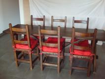 tavolo fratino con sedie