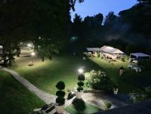 Villa in parco secolare con tensostrutture, 12 posti letto