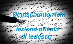 lezione privata di tedesco