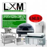 Kit Completo - Pizzeria Forno a Legna