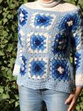 Maglione realizzato a mano