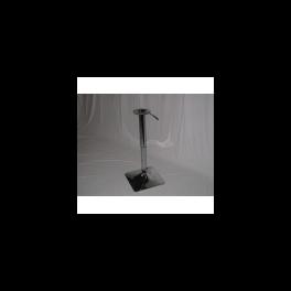 Saturno QW - tavolo con gamba in acciaio cromato 416040a.png