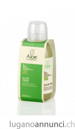 Aloe Vera Puro Succo e Polpa BIOlogico, 500 ml, flacone vetro AloeVeraPuroSuccoePolpaBIOlogico500mlflaconevetro.jpg