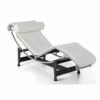 LC4 - Poltrona Chaise Longue in vera pelle stile Le Corbusier Bauhaus