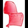Sedia simil PANTON chair in ABS BIANCO, NERO, ROSSO