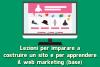 Corso creazione sito e web marketing (base)