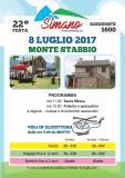 FESTA MONTE STABBIO (organizzata dall'associazione amici del Simano)