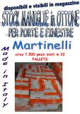 Stock maniglie in ottone made in italy