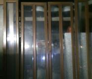 Quadri porta 6 vetri 4 ante soggiorno/sala 6 vetri molati