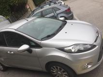 Ford Fiesta 1.4 trend color grigio metallizzato