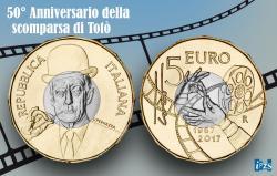 La moneta di Totò da collezione acquistabile a Gragnano LamonetadiTotdacollezioneacquistabileaGragnano1.jpg