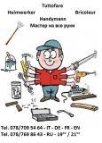 Tuttofare/Heimwerker/Bricoleur/Handyman/мастер на все руки