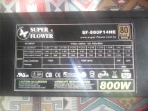 vendo alimentatore Super Flower SF-800P14HE 80 plus bronze