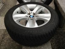 Vendo 4 pneumatici con cerchi BMW serie 5